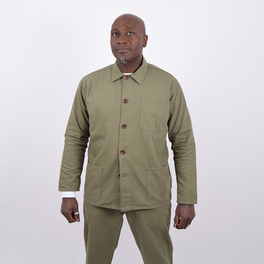 Uskees Army Green Overshirt