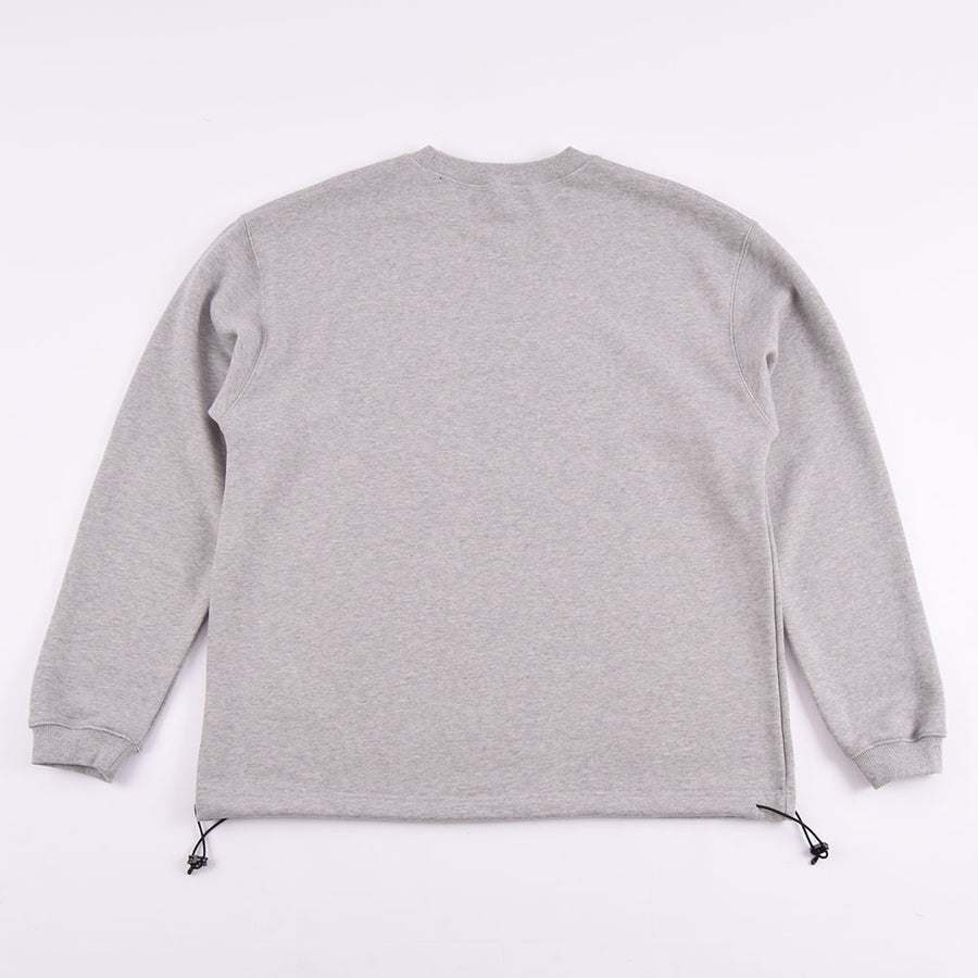 Uniform Bridge Grey Drawstring Sweatshirt