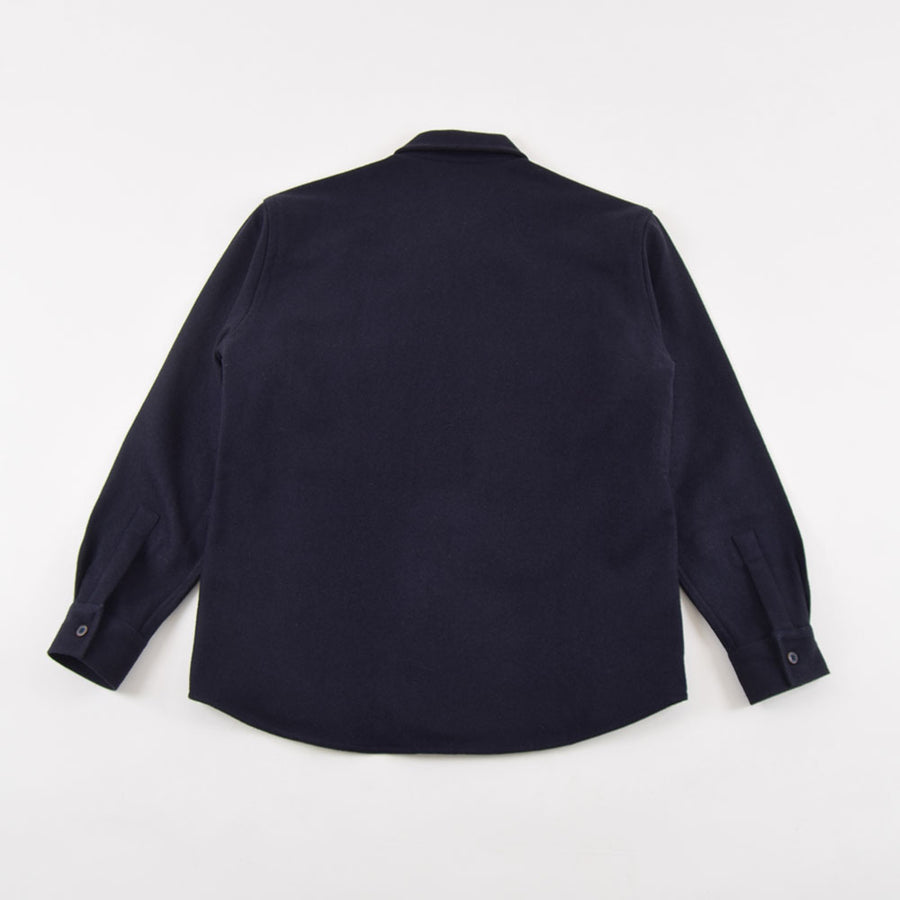 Outland Navy Wool Army Overshirt