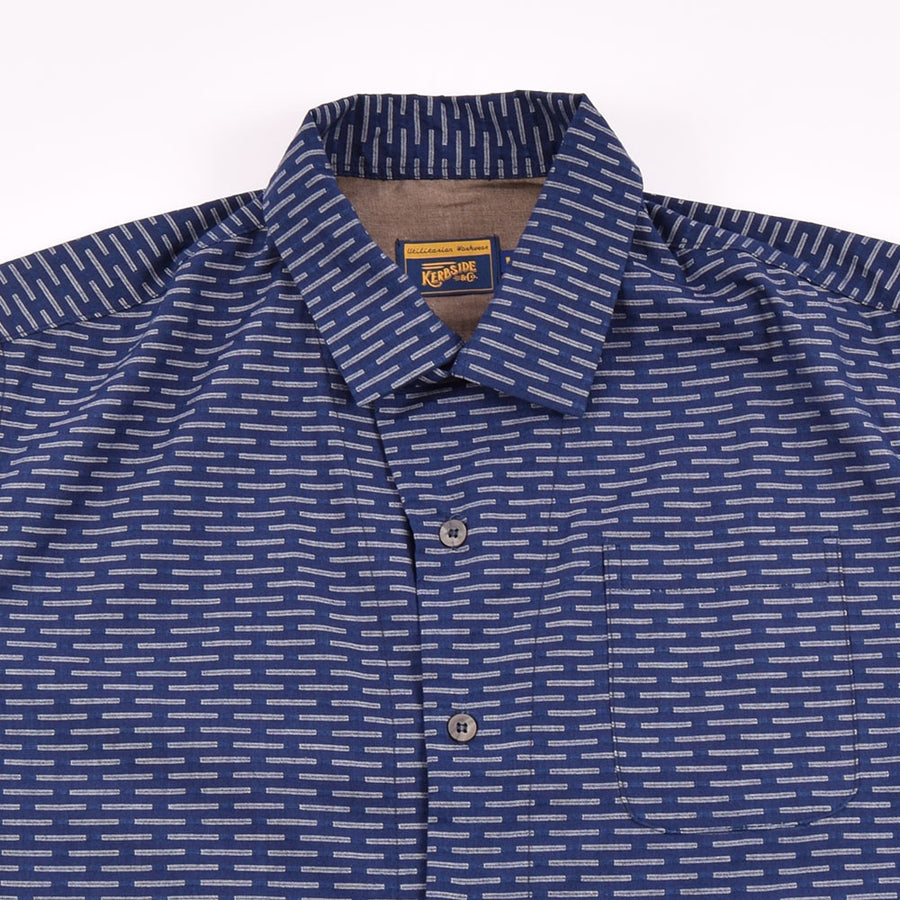Kerbside & Co Navy Rain Camp Shirt