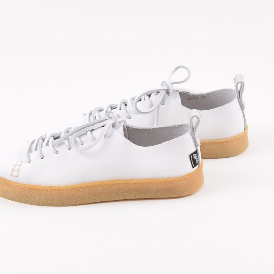 Yogi Ladies White Leather Rufus Shoes