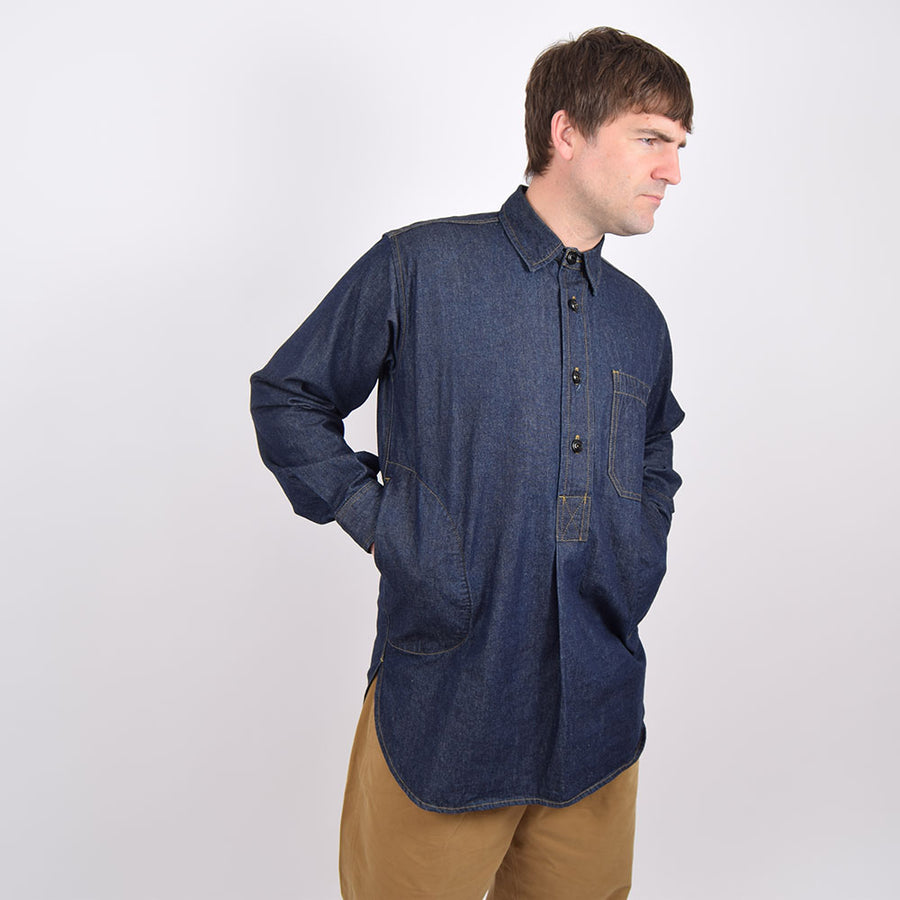 Yarmouth Oilskins Denim Worker Shirt