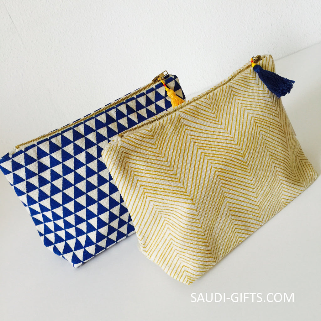 Egyptian Cotton Make Up Bag