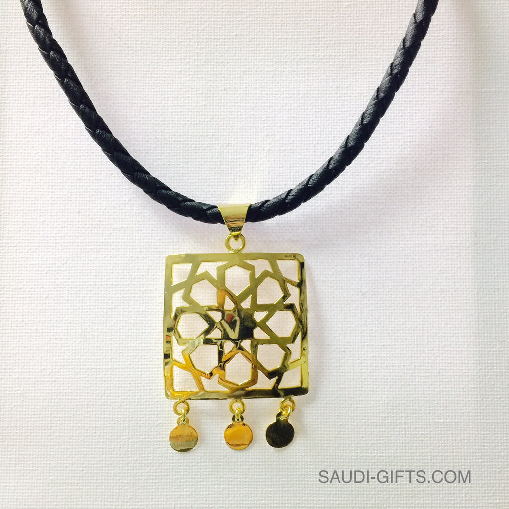 Necklace Square with Islamic Geometry (large)