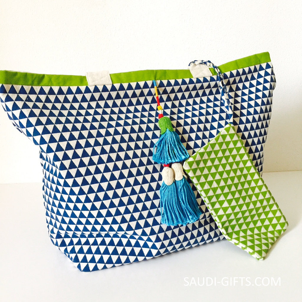 Egyptian Cotton Beach Bag