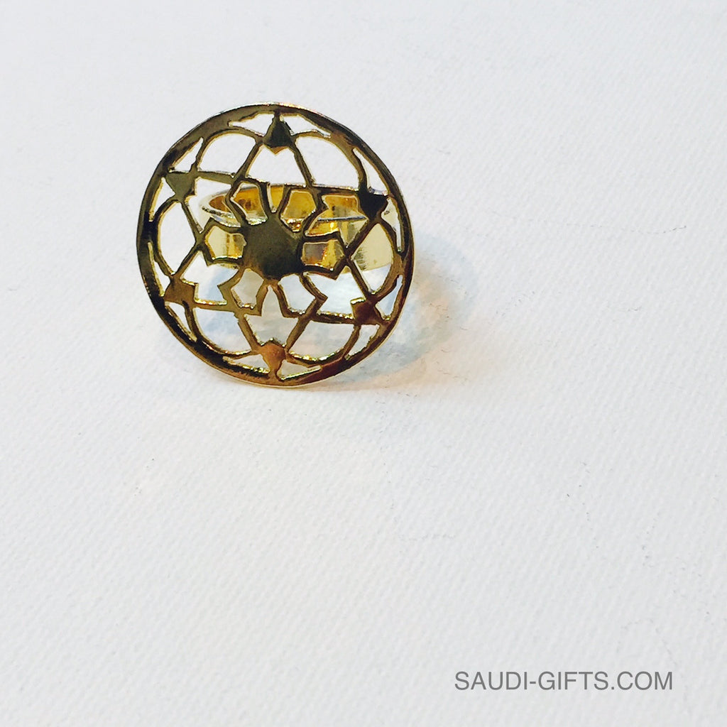 6 fold flower of life ring