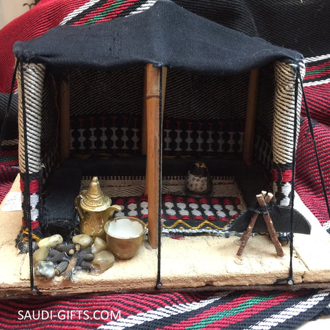 Model Miniature Saudi Bedouin Tent