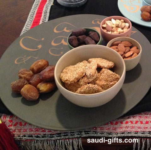 Platter with Arabic Calligraphy
