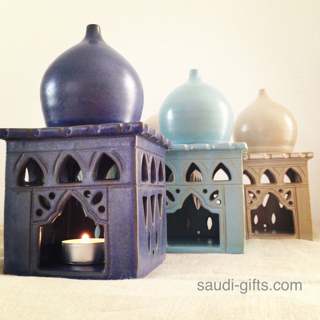 Mosque Candle Holder