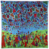 Annada Silk Art Scarf 'Love is in the Air'