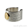 Love and Hope Ring with Rumi and Hafez Poetry
