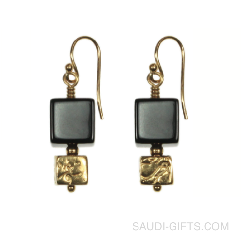 Hajj Cube Earrings