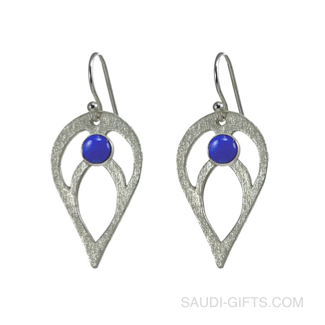Bloom Lapis Earrings