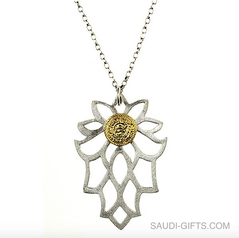 Bloom Rumi Poetry Necklace