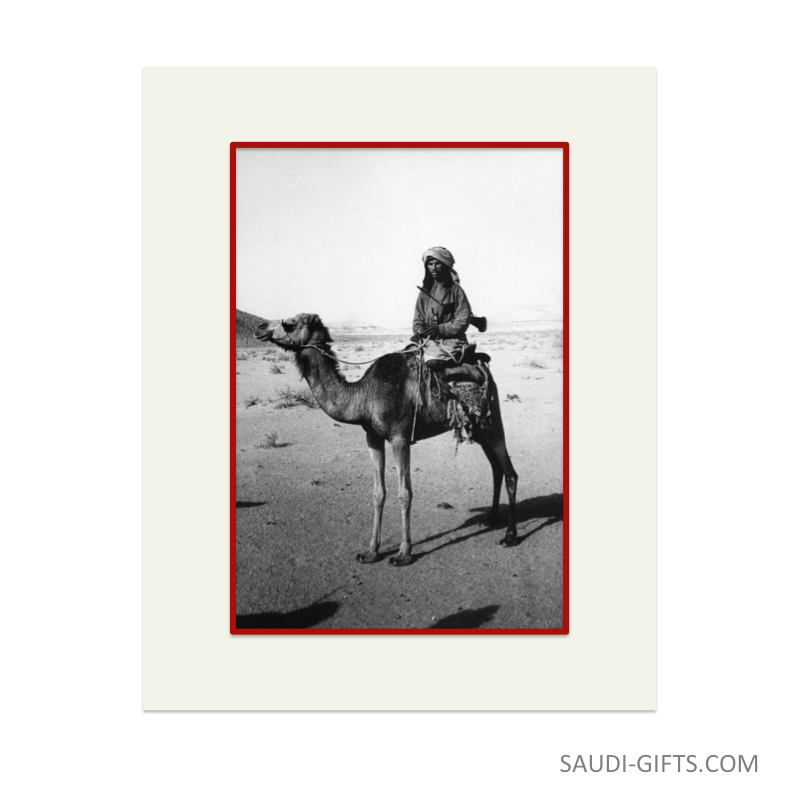 "Historical Reproduction ""Bedouin in the Empty Quarter"""