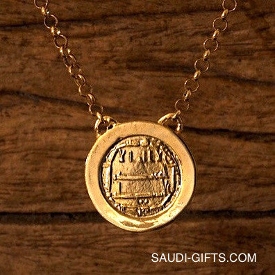 Abbasid Gold Coin Necklace