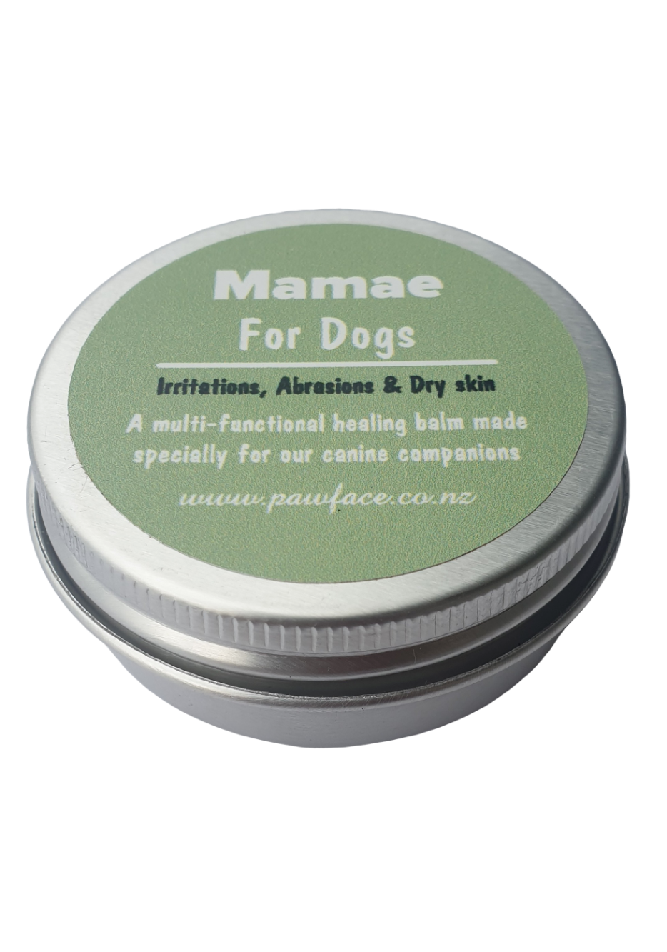 Mamae dog balm to help heal scratches irritations and minor wounds