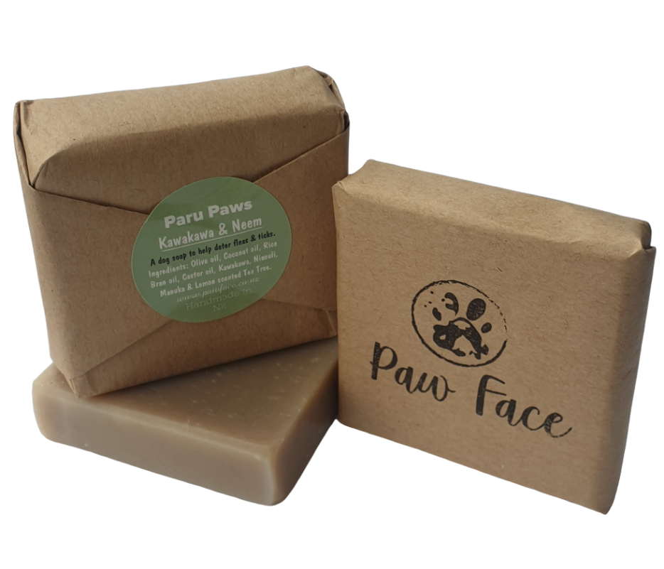 kawakawa neem oil dog soap bar