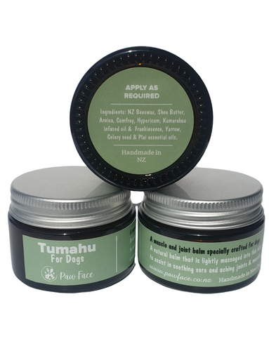 Tumahu muscle and joint balm for dogs