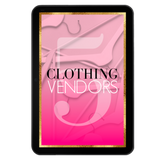 5 CLOTHING VENDORS LIST