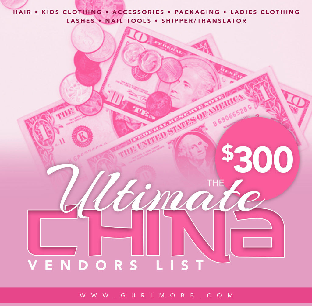Ultimate China Vendors List