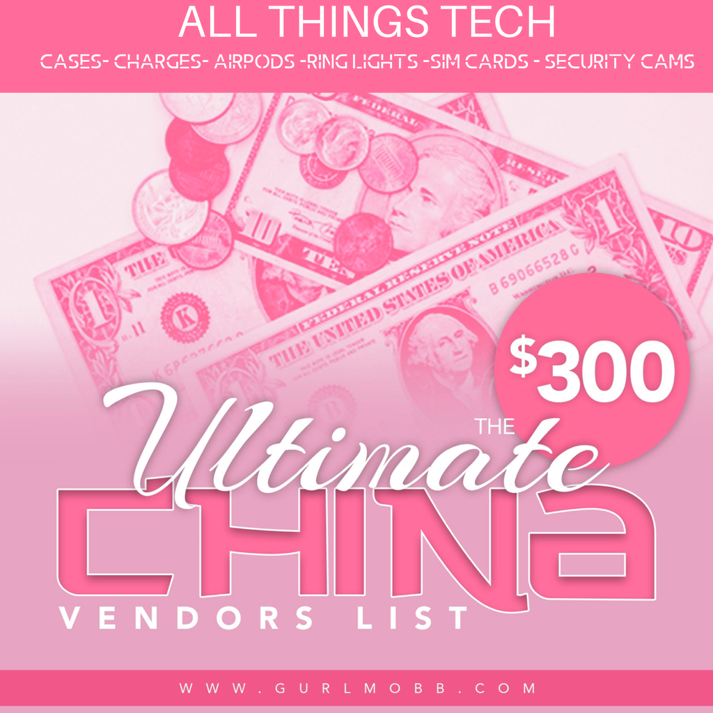 ALL THINGS Tech Ultimate Vendor's list