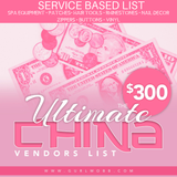 Service Based List
