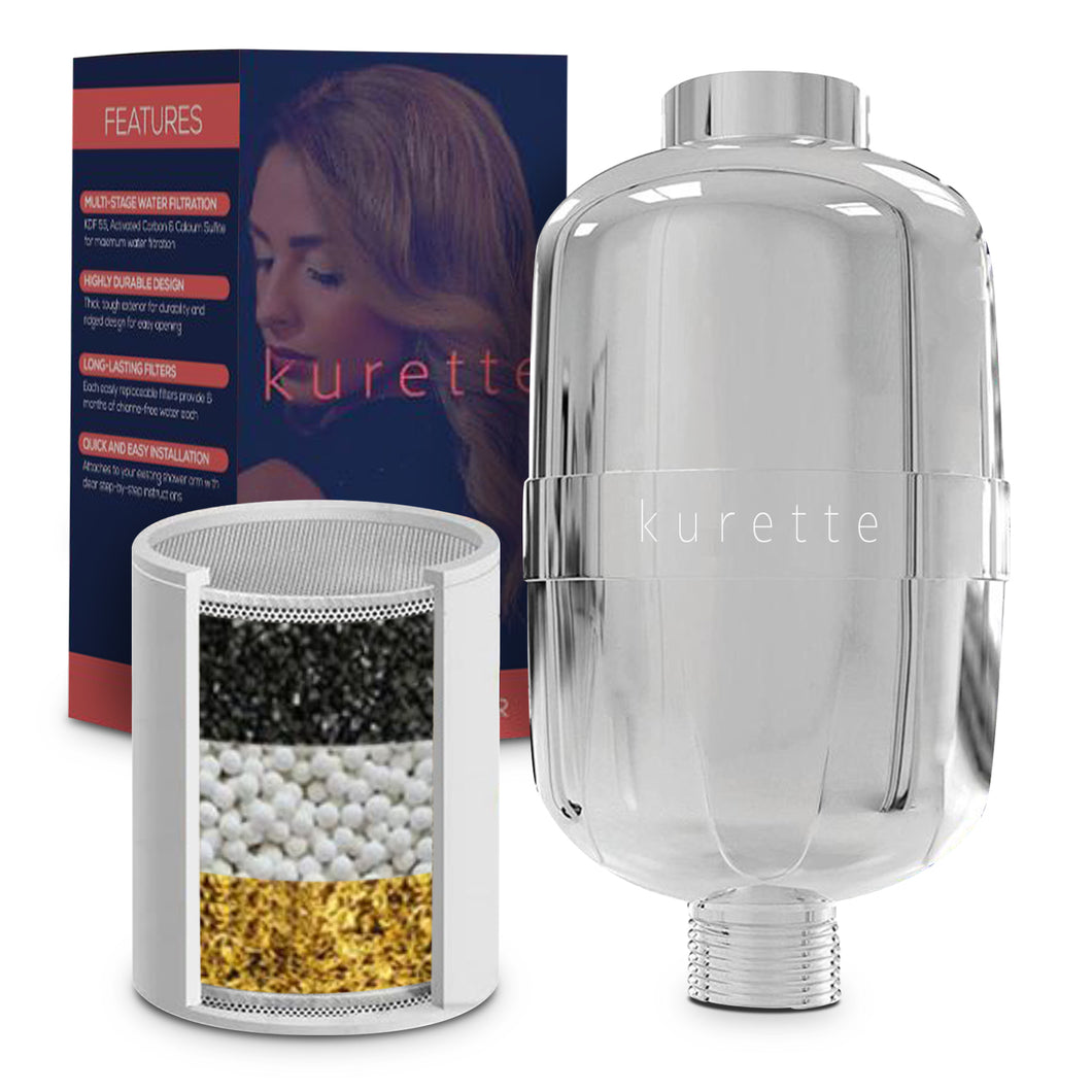 Kurette shower filter
