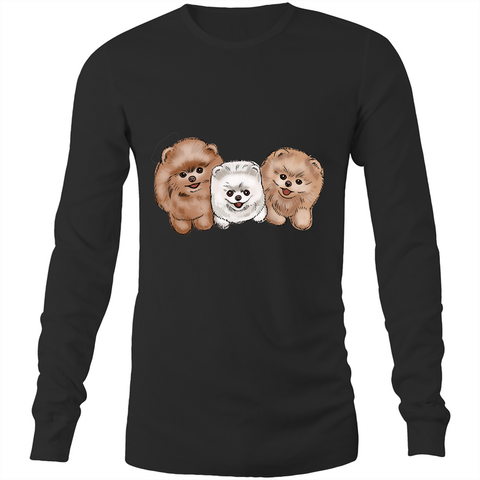 Pomeranian - Long Sleeve T-Shirt - PomWorld.Com