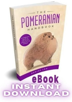 The Pomeranian Handbook (eBook) INSTANT DOWNLOAD. Purchase your copy NOW! - PomWorld.Com