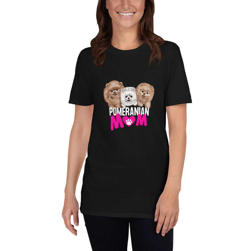 Pomeranian Mum Short-Sleeve T-Shirt - PomWorld.Com