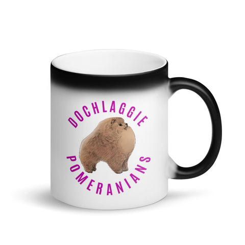 Dochlaggie Pomeranians Matte Magic Mug - PomWorld.Com