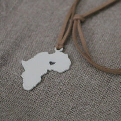I ♡ Africa long necklace