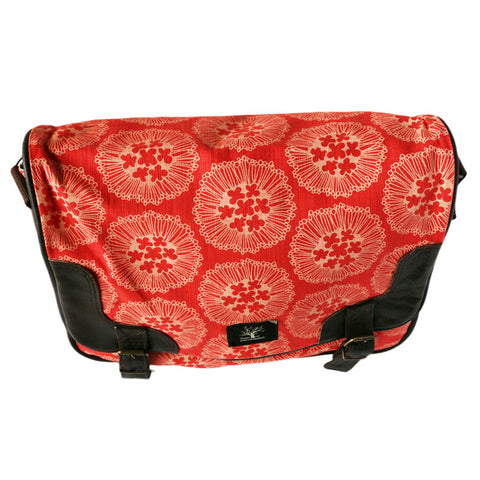 Flowerburst messenger bag
