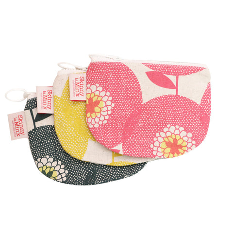 Flower field purse