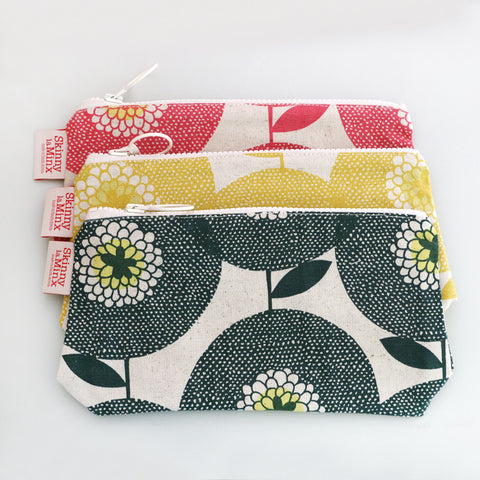 Flower field stash bag