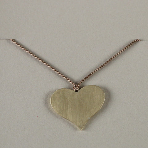 Heart short necklace