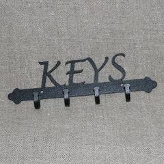 "Small ""Keys"" wall hook"