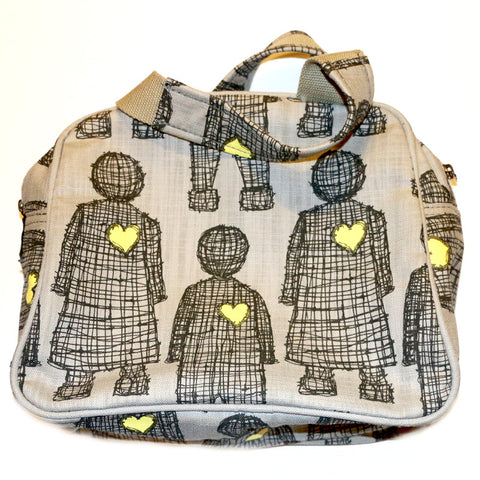 Love Doll overnight toiletry bag