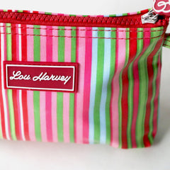 Small cosmetic bag - Candy Stripe