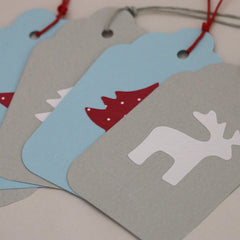 Assorted Christmas gift tags