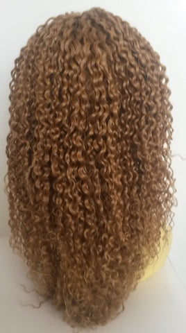 PrettyLoxx Indian Remy Tight Deep Wave Full Lace Wig