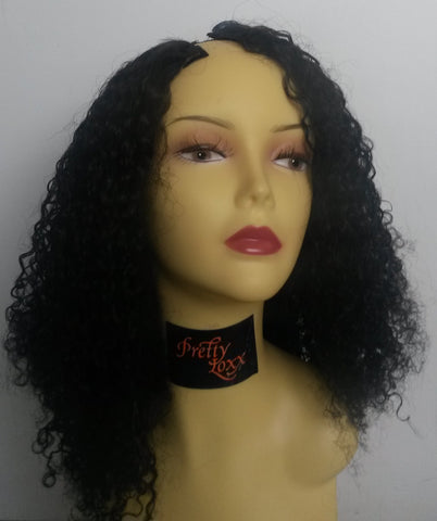 Pretty Loxx Indian Remy L-Part Wig Curly custom made