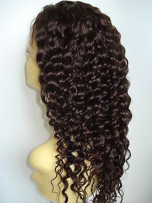 Pretty Loxx Indian Remy Deep Wave Full Lace Unit all colours and lengths