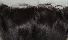 PrettyLoxx Indian Remy Lace Frontal Silky Straight with or without headband - PrettyLoxx