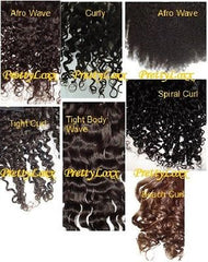 Pretty Loxx Indian Remy Lace Frontal Afro Curl all colours and lengths - PrettyLoxx