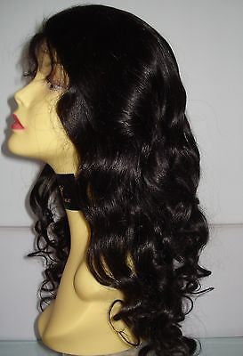 Pretty Loxx Indian Remy Body Curl Full Lace Wig all colours and lengths