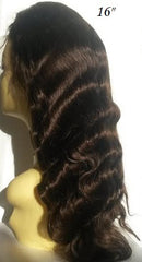 Pretty Loxx Brazilian Virgin Full Lace Wig Body Wave