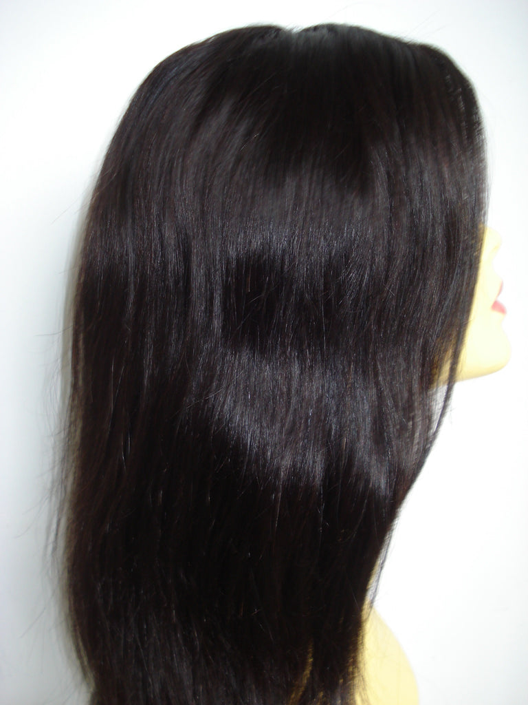 "Refurbished Silk Top Full Lace wig by Pretty Loxx Colour 1b 18"" long - PrettyLoxx"