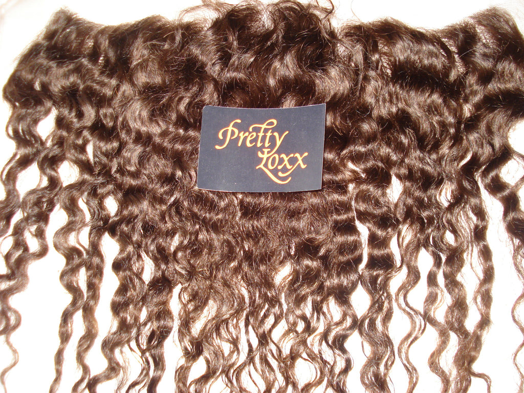 "12"" Afro Wave INDIAN REMY FRONTAL COL 2 - PrettyLoxx"